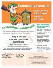 Wasco Community Clean- up Event (Spanish)