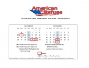 Recycle Calendar