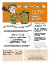 Wasco Community Clean- up Event