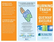 Burning Trash Brochure