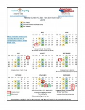 Recycle Schedule