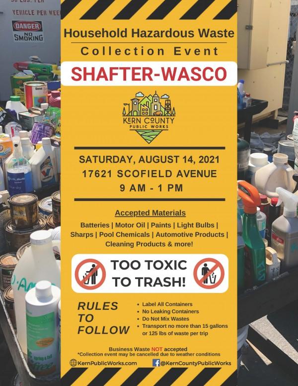 Shafter - Wasco HHW